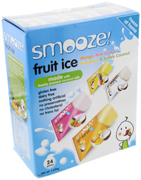 Smooze! Assorted Fruit Ice (24pk)