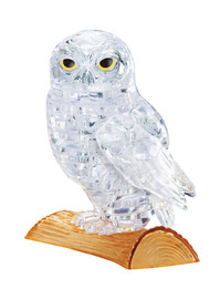 Crystal Puzzle - Clear Owl