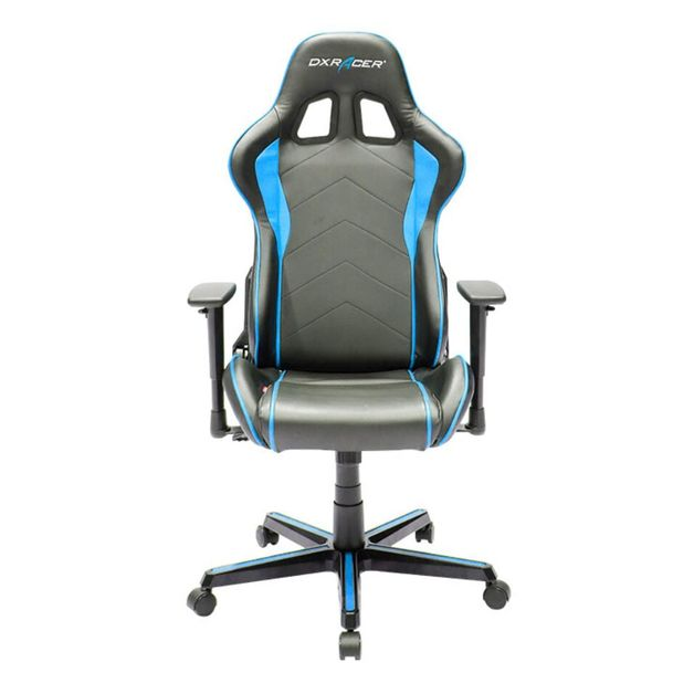 DXRacer Formula Series FH08 Gaming Chair (Black and Blue) for