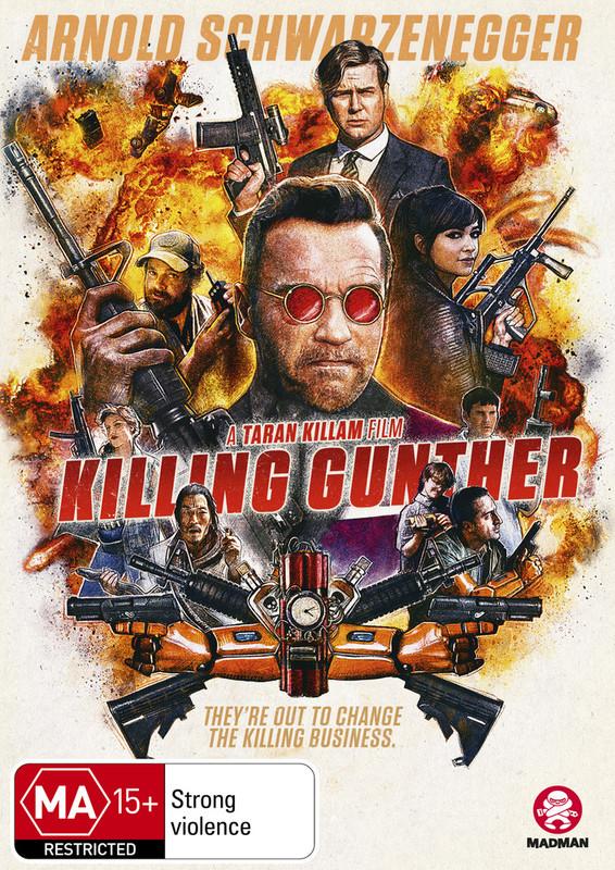 Killing Gunther on DVD