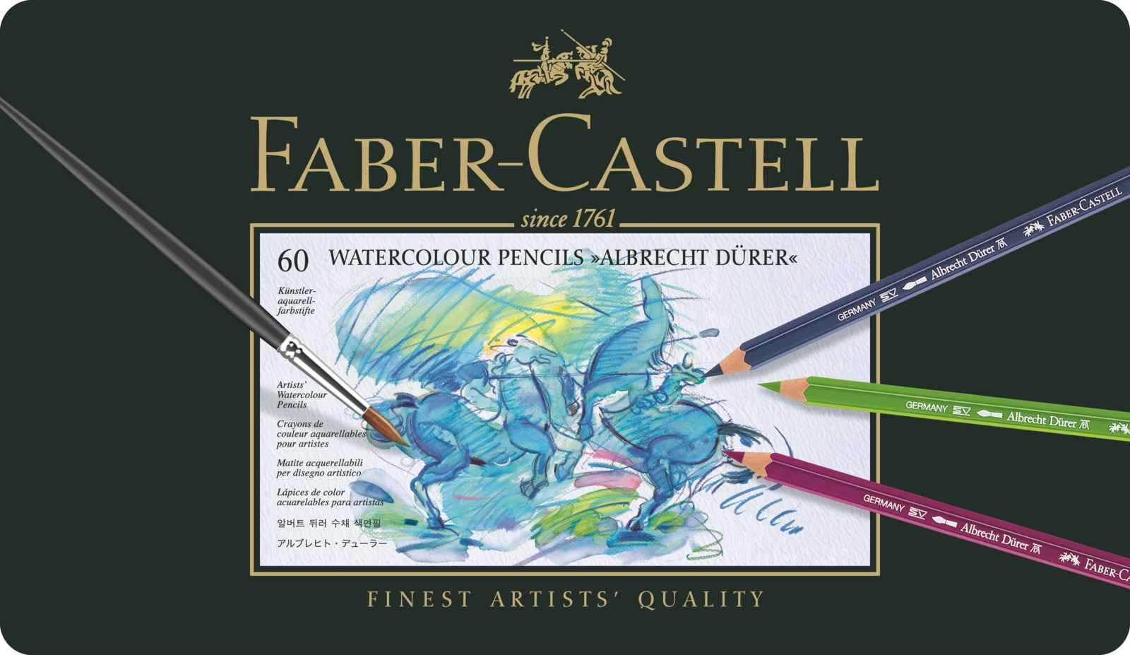Faber-Castell: Albrecht Durer Pencil (Tin of 60) image