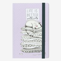 Legami: Medium Notebook - Kitten