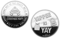 Die Hard: Collectible Coin - Yippee Ki Yay (Silver Edition) image