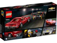 LEGO Speed Champions: Chevrolet Corvette C8.R Race Car & 1968 Chevrolet Corvette - (76903)
