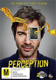 Perception - Season 1 on DVD