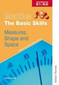 Maths the Basic Skills Measures, Shape & Space Workbook E1/E2 by Bridget Phillips image