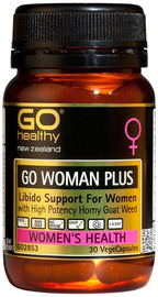 Go Healthy: GO Woman Plus (30 Capsules)
