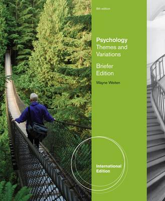 Psychology: Themes and Variations, Briefer Edition by Wayne Weiten image