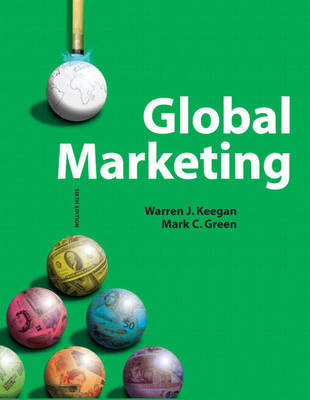 Global Marketing by Warren J. Keegan image