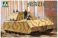 Takom 1/35 German Super Heavy Tank Maus V1 Model Kit