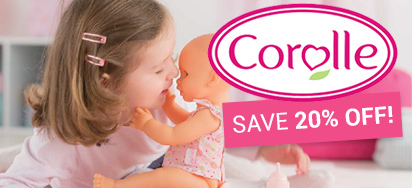 20% off Corolle