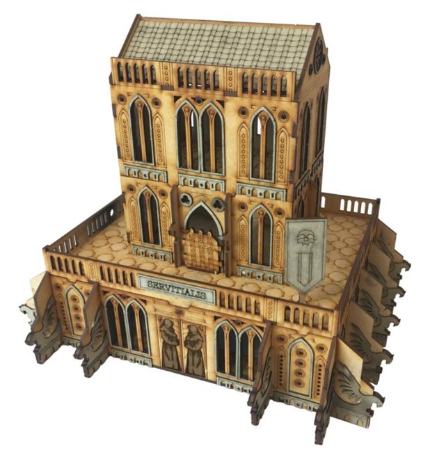 TTCombat: Tabletop Scenics - Gothic Servitialis