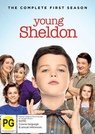 Young Sheldon: Series 1 on DVD