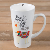 Natural Life: Latte Mug - Don't Let Anyone Sparkle