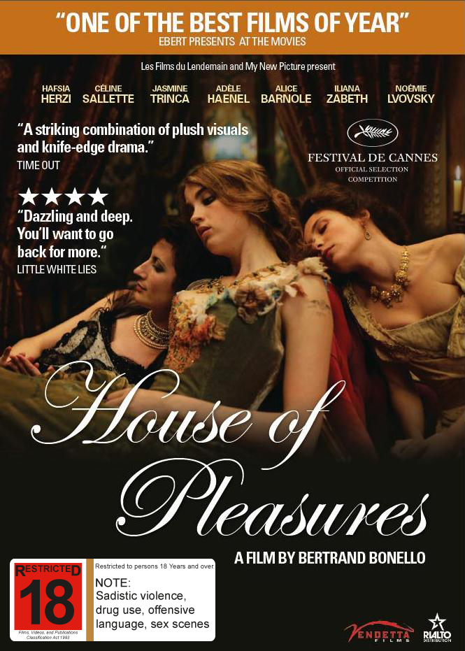 House of Pleasures on DVD image