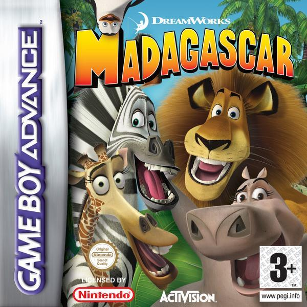 Madagascar for Game Boy Advance