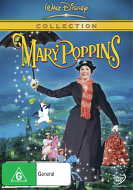 Mary Poppins (1964) on DVD