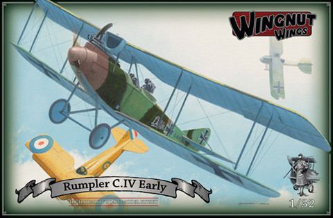 Wingnut Wings 1/32 Rumpler C.IV Early Model Kit