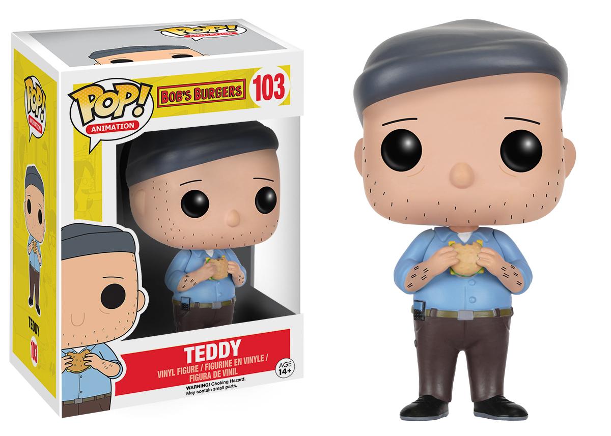 Teddy Pop Vinyl Figure At Mighty Ape Australia