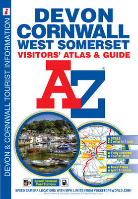 Devon, Cornwall and West Somerset Visitors' Atlas by Geographers A-Z Map Company