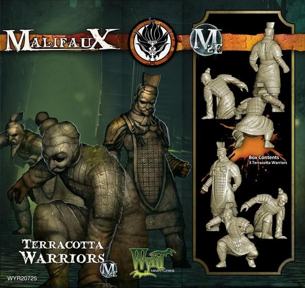 Malifaux: Ten Thunders - Terracotta Warriors (3pc)