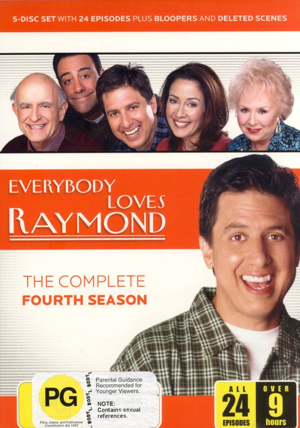 Everybody Loves Raymond - Season 4 on DVD image