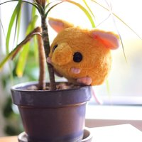 "Mini Elephant Shrew - 6"" Plush Toy"
