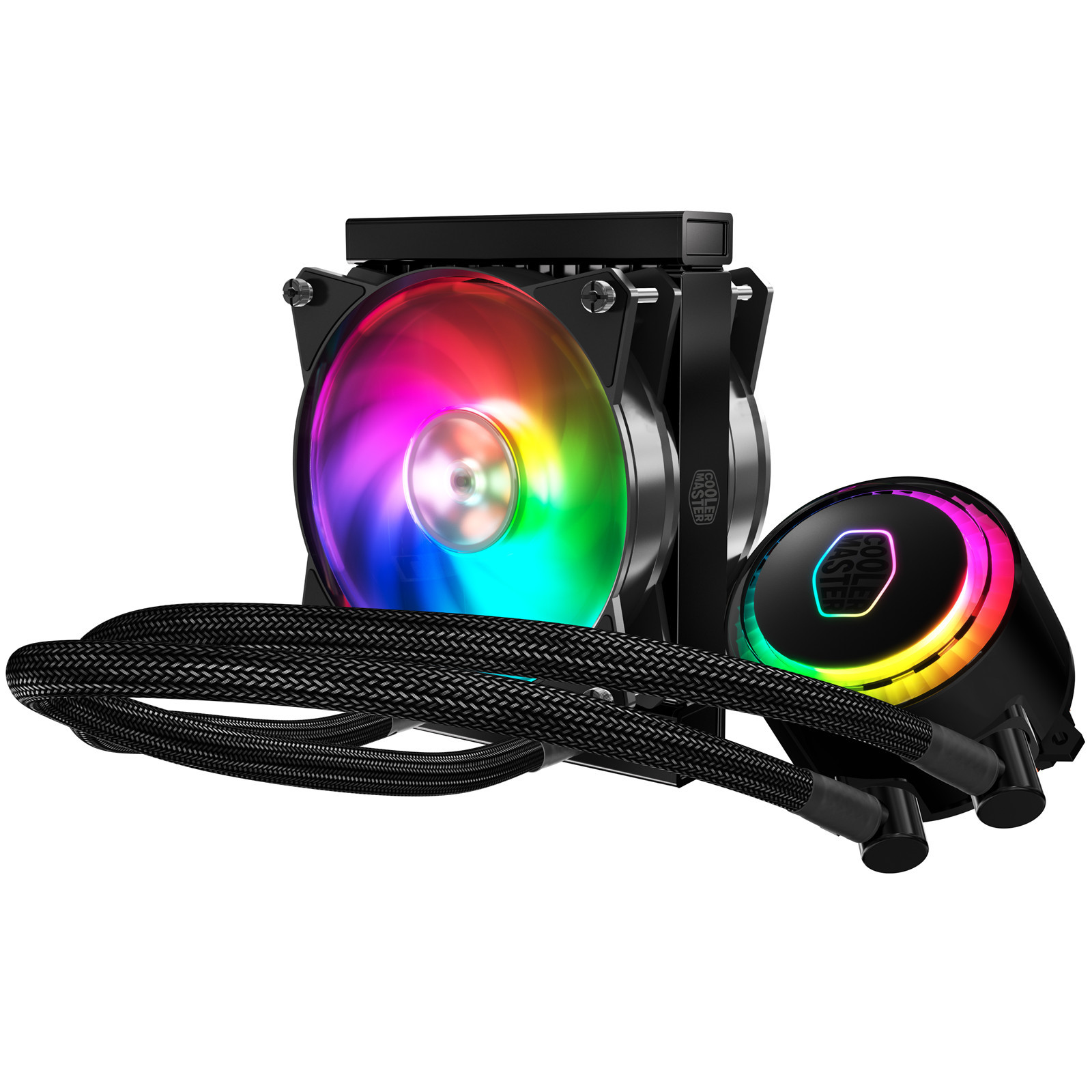 Cooler Master MasterLiquid ML120R All in One Watercooling with Addressable RGB 120MM fan - image