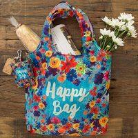 Natural Life: Fold-up Shopping Bag - Happy Bag