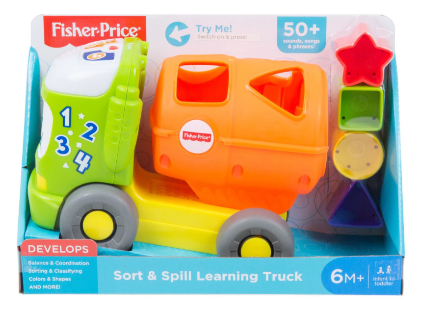 Fisher-Price - Sort & Spill Learning Truck image
