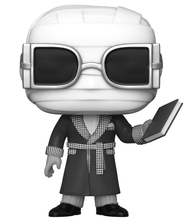 Universal Monsters - The Invisible Man (B&W) Pop! Vinyl Figure
