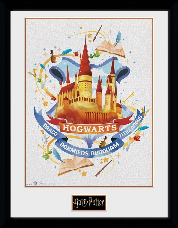 Harry Potter: Hogwarts Painted - Collector Print (41x30.5cm)