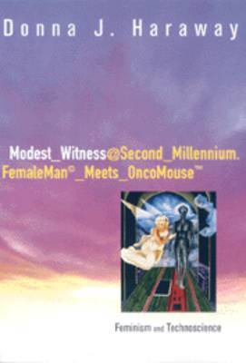 Modest_witness@Second_millennium.Femaleman_meets_oncomouse by Donna J. Haraway image
