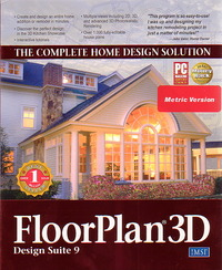FloorPlan 3D Design Suite 9 Home Design Solution for PC Games image