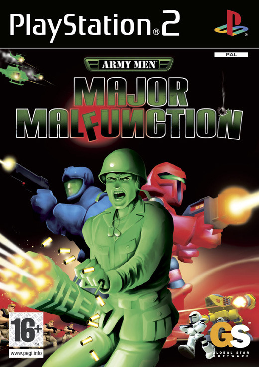 Army Men: Major Malfunction for PlayStation 2