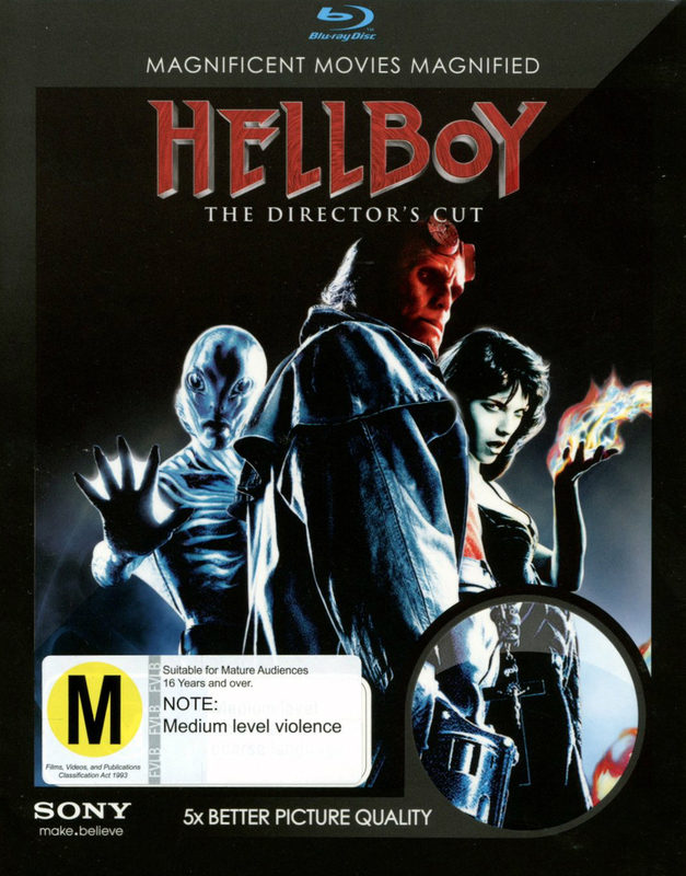 Hellboy Director's Cut on Blu-ray
