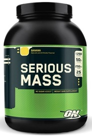 Optimum Nutrition Serious Mass - Banana (2.72kg)