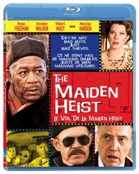 The Maiden Heist on Blu-ray