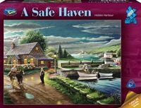Holdson: 1000 Piece Puzzle A Safe Haven Hidden Harbour