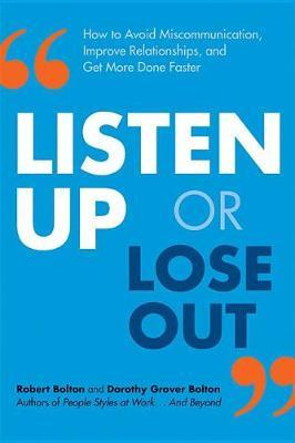 LISTEN UP OR LOSE OUT by Bolton image