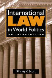 International Law in World Politics by Shirley V. Scott image