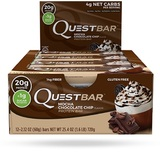Quest Nutrition - Quest Bar Box of 12 (Mocha Chocolate Chip)