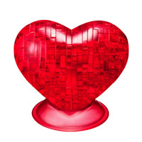 Crystal Puzzle: Red Heart