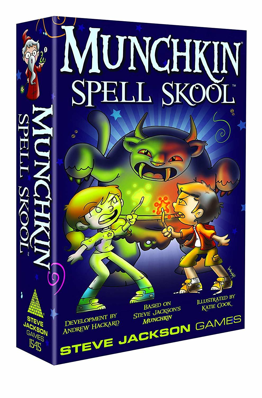 Munchkin: Spell Skool - Card Game image
