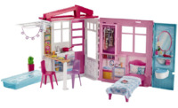 Barbie: Fully Furnished House - Doll Playset