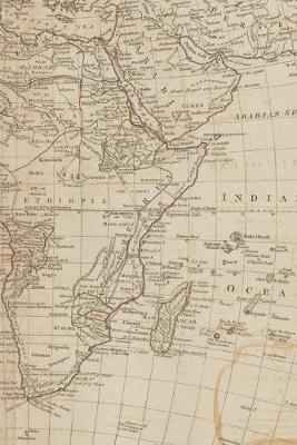 1788 Map of Africa