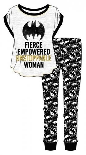 Batgirl: Fierce Empowered Unstoppable Woman Pyjama Set (16-18)