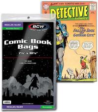 BCW: Resealable Comic Book Bags - (Silver/Regular) image