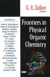 Frontiers in Physical Organic Chemistry image