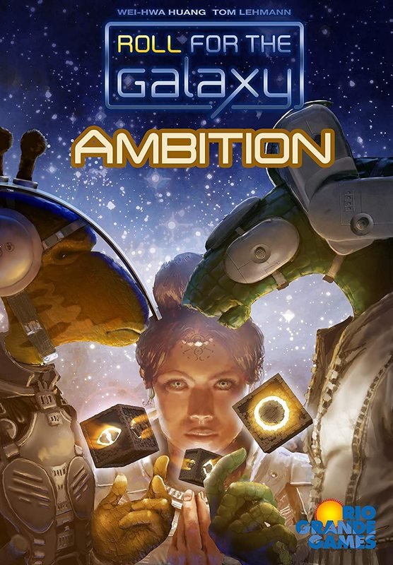 Roll for the Galaxy: Ambition - Game Expansion